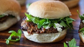 Indian Spiced Black Bean and Tofu Burgers Recipe