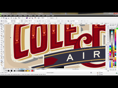 CorelDRAW® Tutorial | Creating Custom Lettering Effects