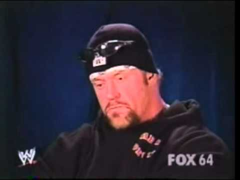Undertaker promo on Vince Mcmahon 11 06 2003