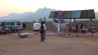 RC Chiangrai Thailand C130  on Maesai Flying Club Meeting 2013