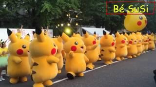 Nhạc Thiếu Nhi - Bống Bống Bang Bang - Pikachu vui nhộn