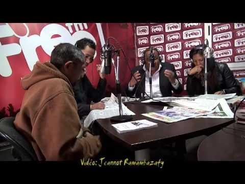 Jeannot Ramambazafy. Radio Free FM 23.07.2014