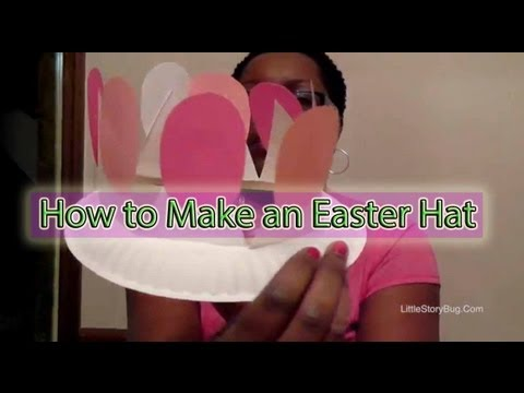 Preschool Craft for Easter - Easter Hat - Littlestorybug - YouTube