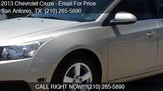 2013 Chevrolet Cruze 1LT Auto 4dr Sedan w/1SD for sale in Sa