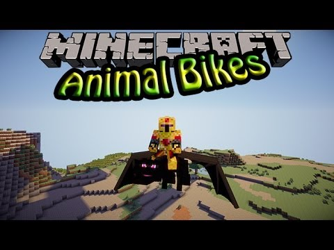 Animal Bikes Mod 1.7.2 Forge FR Animal Bikes