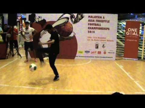 AFFC 2014 - Zaid (Palestine) vs Mohammed Akbari (Iran)