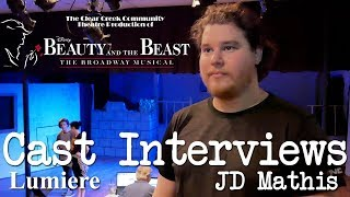 Beauty and the Beast - Cast Interviews: JD Mathis