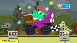 Fun Kids Car Racing Game : Frog Car - Part 2 / Game For Kids - Nursery Rhymes Songs For Children