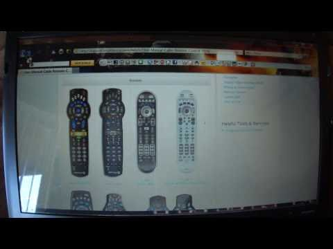 How to get cable remote codes