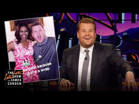 James Corden Visits the White House