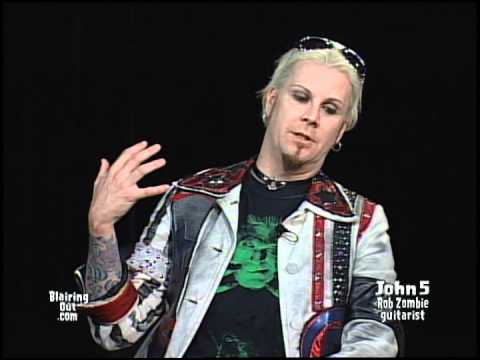 Rob Zombie's JOHN 5 talks about his Career in music W Eric Blair, May 2012