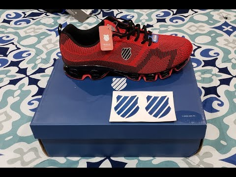 Unboxing And Review Of Tenis KSWISS VOLTA Men (Red/Rojos)