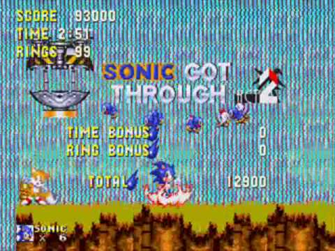 Misc Computer Games - Sonic The Hedgehog 3 - Angel Island Zone