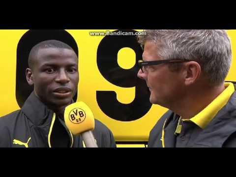 Adrian Ramos 1st Interview Borussia Dortmund