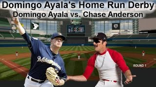 Chase Anderson vs  Domingo Ayala Home Run Derby