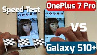 OnePlus 7 Pro VS Galaxy S10+ Speed Test (Shocking) NOT Click Bait