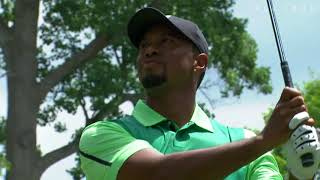 Tiger Woods highlights from Round 1 of Quicken Loans