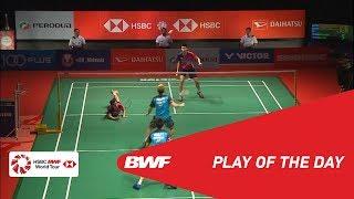 Play Of The Day   PERODUA Malaysia Masters 2019 F   BWF 2019