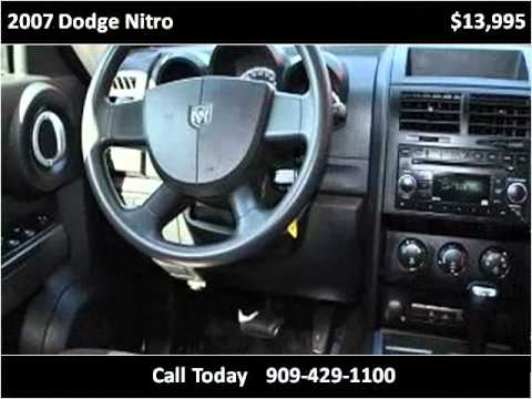 2007 Dodge Nitro Used Cars Fontana CA