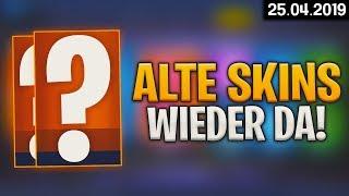FORTNITE SHOP vom 25.4 - 🤔 Alte Skins! 🛒 Fortnite Daily Item Shop von heute (25 April 2019) | Detu
