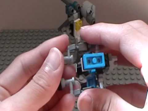 Lego Halo Warthog Guass Cannon Tutorial