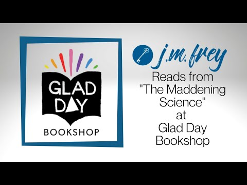 "J.M. Frey reads from ""When the Villain Comes Home"" at Glad Day Book Shop"