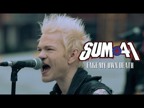 Sum 41 Fake My Own Death music videos 2016 metal