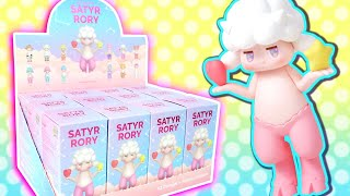 Satyr Rory - The CUTEST Art Toy by Korean Artist Surprise Blind Boxes FULL CASE