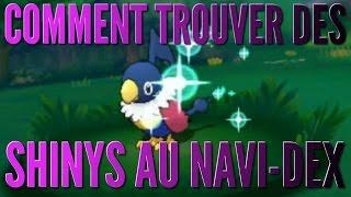 [TUTO] Comment trouver des shinys grâce au Navi-Dex ? l Pokémon ROSA