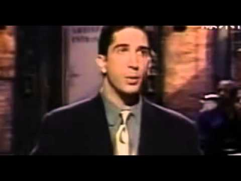 Friends Cast on SNL 1995
