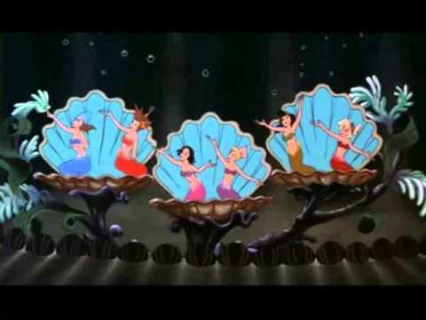 Cartoni Disney - Le Figlie Di Tritone