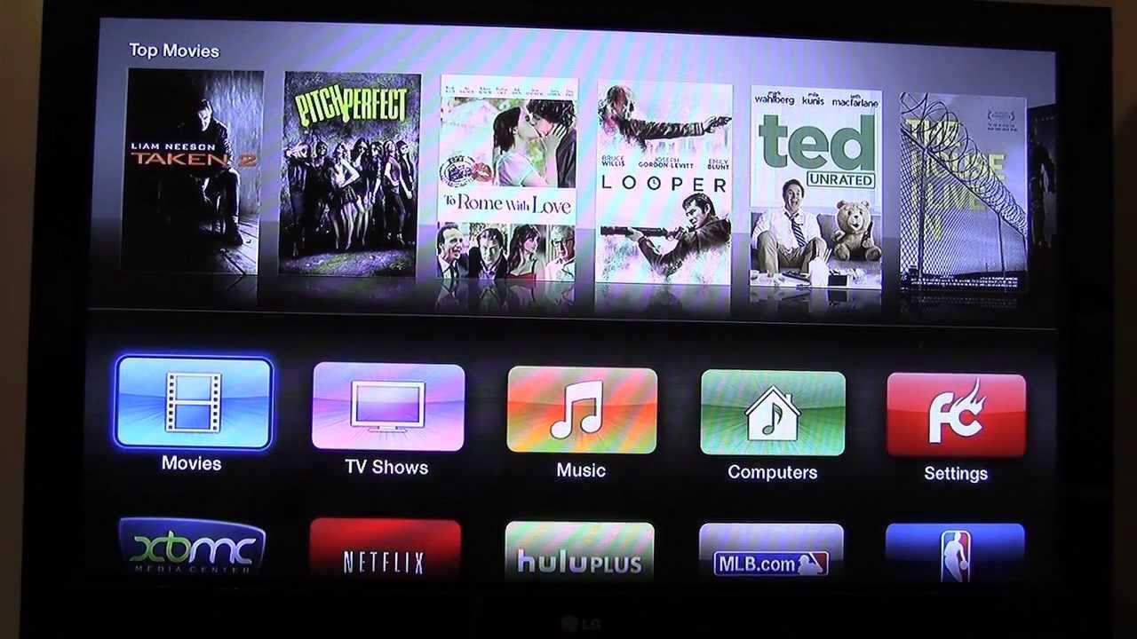 Apple TV 2 Jailbroken with (KODI) XBMC