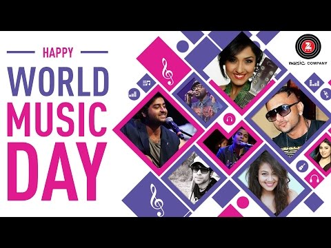 Happy World Music Day | Stay Tuned Stay Happy |  Zee Music Company