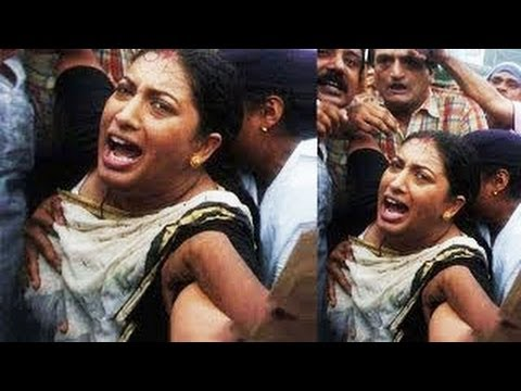Smriti Irani Molested At A Rally -- Big News video