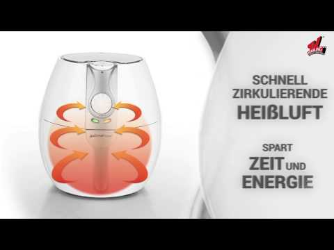 gourmetmaxx Heißluft-Fritteuse 8in1 - präsentiert von tvdoo.de