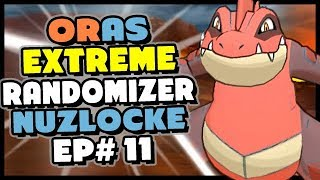 Team Aqua Has DELTA FERALIGATR?? -  Pokemon Alpha Sapphire HD Extreme Randomizer Nuzlocke Episode 11