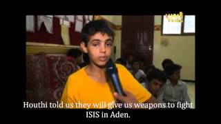 Houthi Child Soldiers
