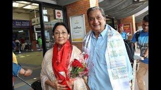 बलिउड नायिका माला सिन्हा काठमाडौंमा | Mala sinha | Medianp.tv