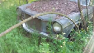 Volvo 164 Overdrive abbandonata in un bosco....