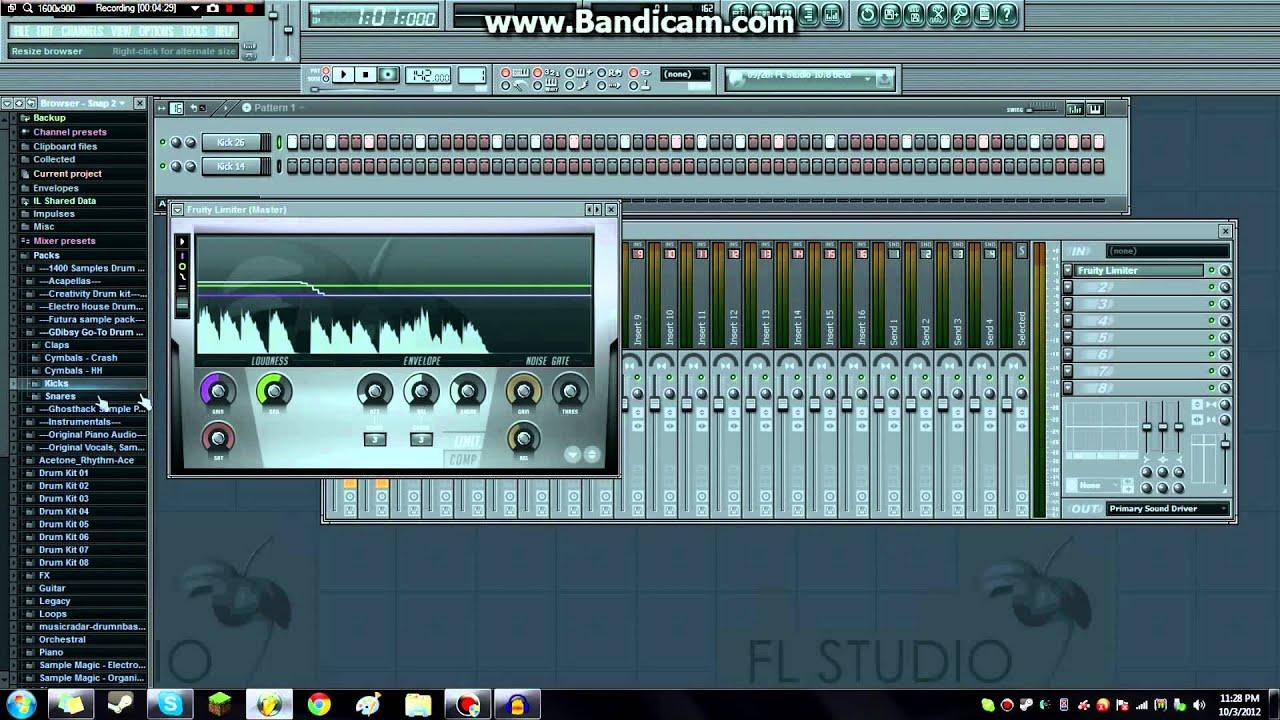 how to make fl studio drums sound better