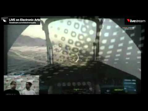 Battlefield 3 (BF3) - Armored Kill Gameplay - Bandar Desert - AC 130 - E3 2012