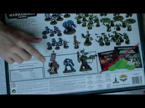 Warhammer 40k Unboxing Assault on Black Reach The Ultimate Starter Kit ?