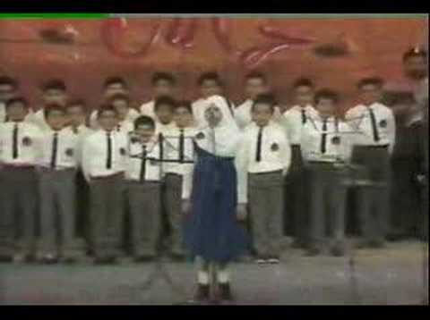palestine boys and girls performing freedom voice