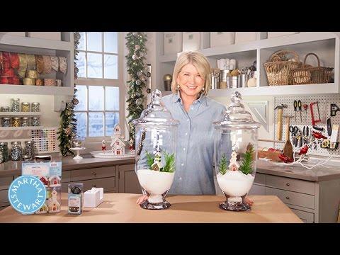 Martha Stewart's Tabletop Holiday Decor - Martha Stewart