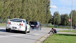 Borderrun 2015 - BRUTAL CAR SOUNDS ( Liberty walk gtr, aventador, hurcan,...)