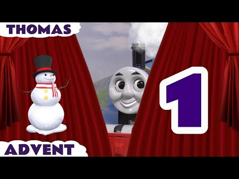 Thomas & Friends Toy Trains Advent Calendar Surprise Toys for kids 24 Days Of Christmas Day 1 TT4U