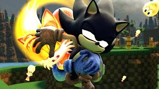 [SFM] Dark Sonic vs. Super Tails revisited