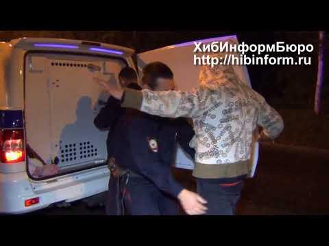 Задержание хулигана на улице Ферсмана