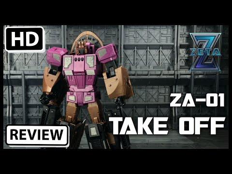 Zeta Toys Armagedon ZA-01 Take Off Transformers Masterpiece Blastoff