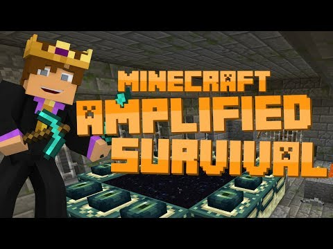 Minecraft: Amplified Survival #16 BIGGEST FAIL EVER